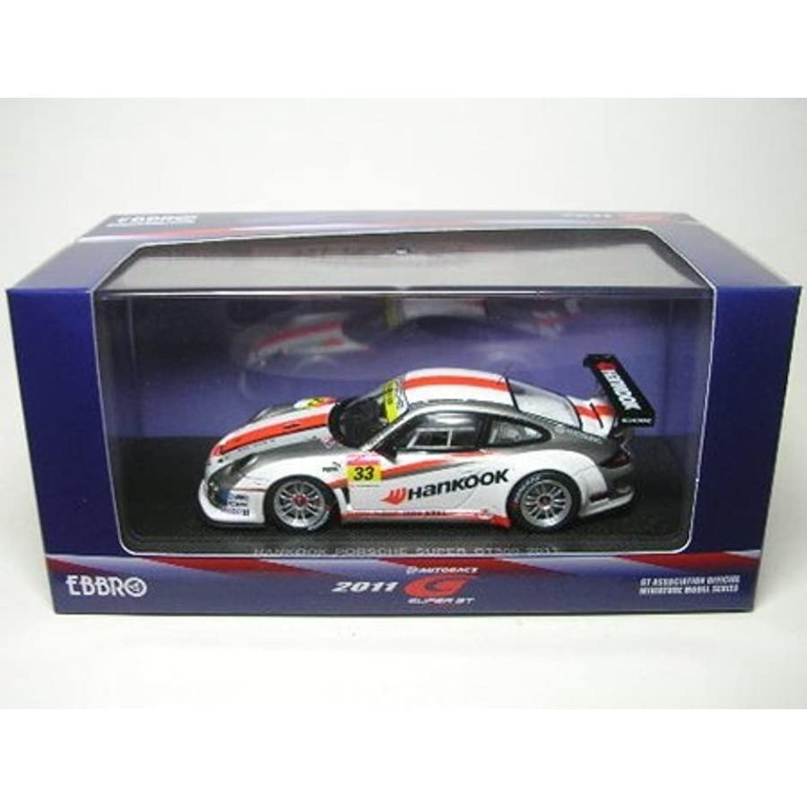 EBRRO 1/43 SUPER GT300 HANKOOK PORSCHE 2011 完成品[44540]