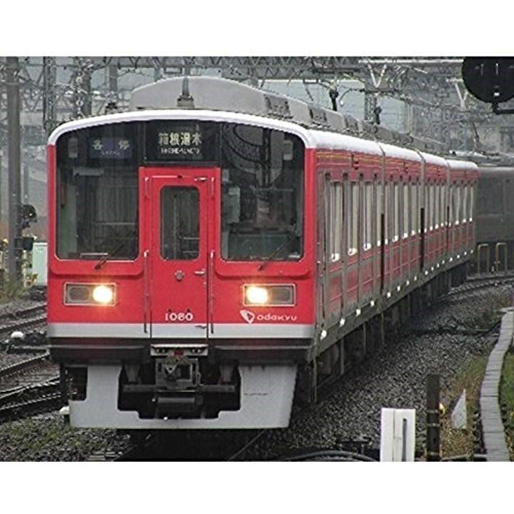 Nゲージ 小田急1000形 赤 4両編成セット 動力付き[30592]