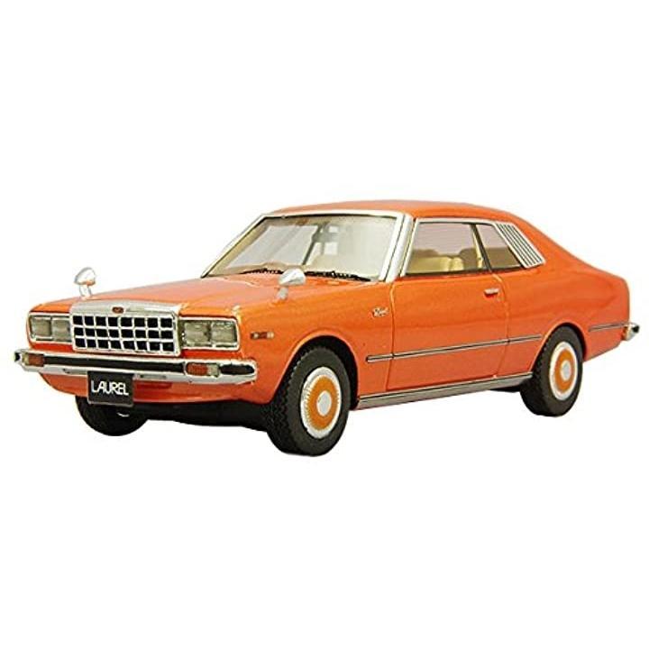 LA-X 1/43 日産 ローレル 2ドアハードトップ 2800 メダリスト 1978 オレンジメタリック 完成品[L43071]
