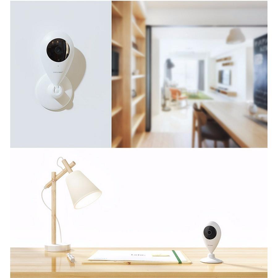 防犯カメラ ワイヤレス 5点 セット 監視カメラ 赤外線 暗視 録画 sdカード wifi 玄関 窓 人感センサー スターターキット ORVIBO zeitakuya 17