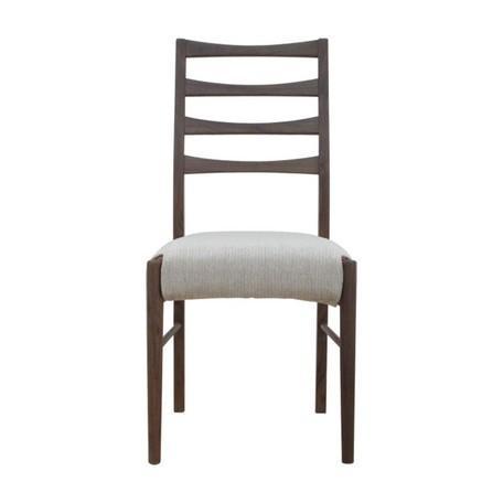 椅子、スツール、座椅子 ダイニングチェア (ミディアムブラウン)(2脚セット)
