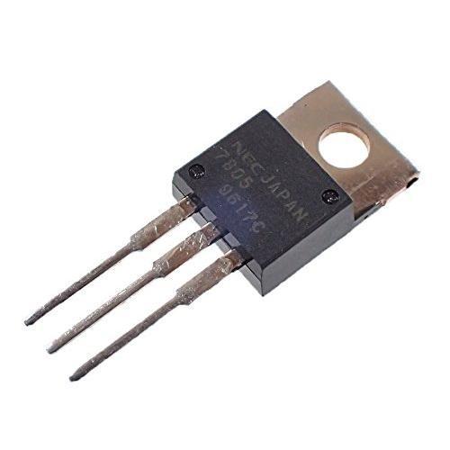 NEC 汎用品 三端子レギュレータ 5V 1A UPC7805H (5個セット)|zembuzembu