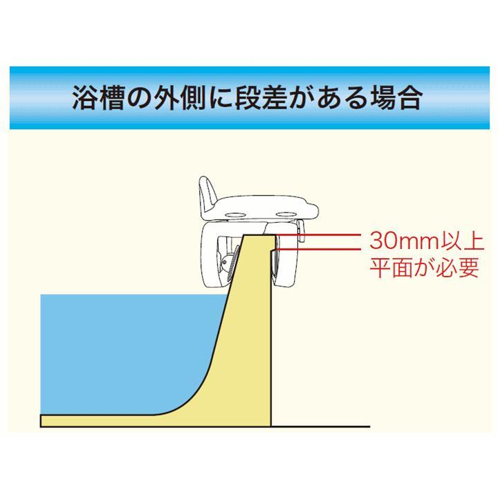 送料無料 回転バスボード(BBK-001)【風呂椅子浴槽台 移乗 回転 入浴いす 浴室いす お風呂いす 浴室用いす お風呂用いす 入浴椅子 お風呂椅子 ユニトレンド 】|zengozen-yafoo|04