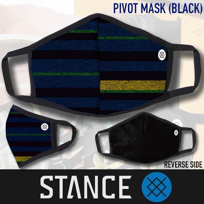 送料無料■STANCE MASK■ソックスブランド スタンス からマスクが登場 リバーシブル PIVOTモデル/定形外郵便送料無料|zenithgaragesurfplus|02