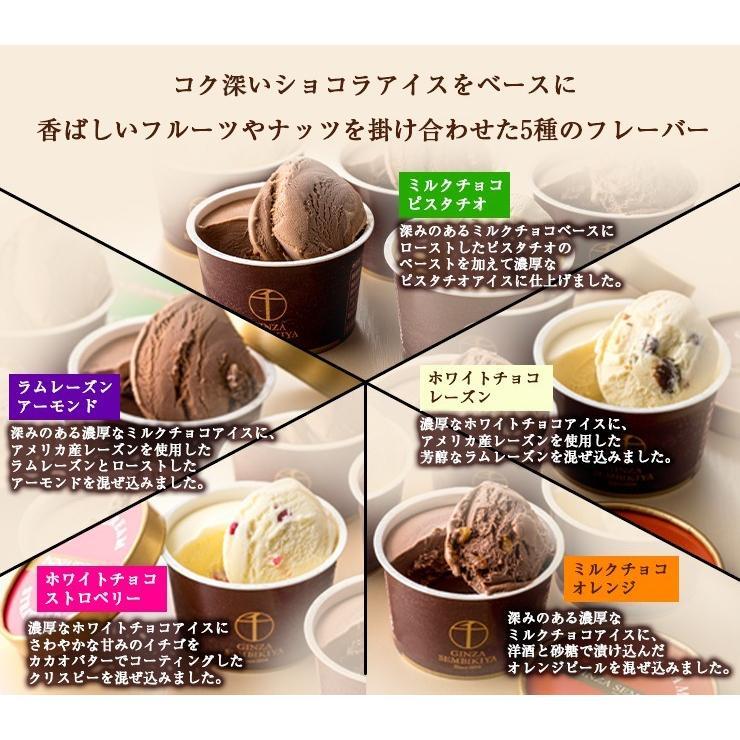 お歳暮 アイス ギフト 銀座千疋屋 銀座ショコラアイス10個 アイスクリーム 誕生日 御歳暮|zenzaemon|04