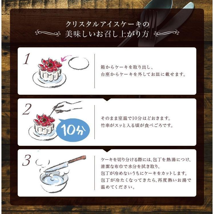 誕生日ケーキ バースデー 春華堂 クリスタルアイスケーキ チーキーワンワン アイスクリームケーキ zenzaemon 04