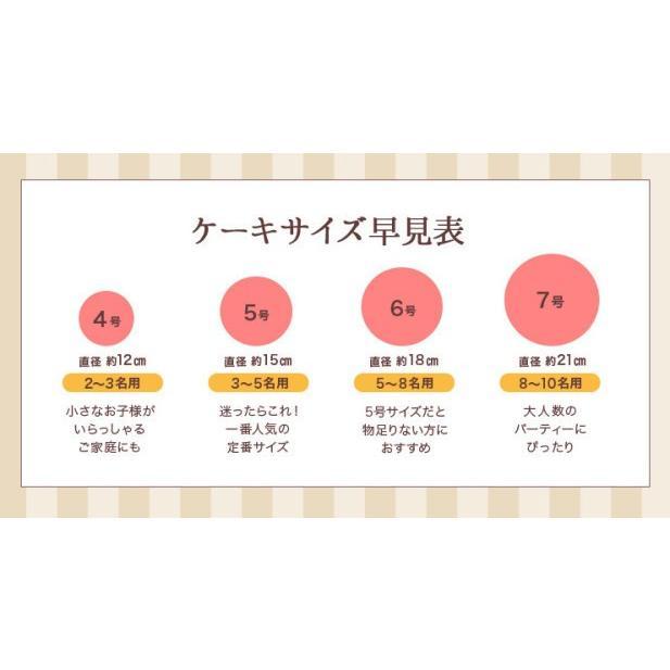 バースデー 誕生日 アイスケーキ フローズンフルーツと生乳アイスクリームケーキ  5号 デコレーションケーキ|zenzaemon|07