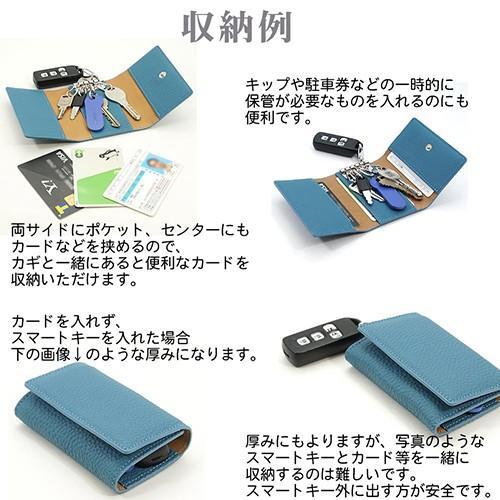 ドイツシュリンク 5連 キーケース 3つ折り カードポケット付 (黒) zeppinchibahonpo 05
