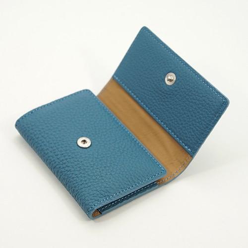 ドイツシュリンク 5連 キーケース 3つ折り カードポケット付 (ジーンブルー) zeppinchibahonpo 02