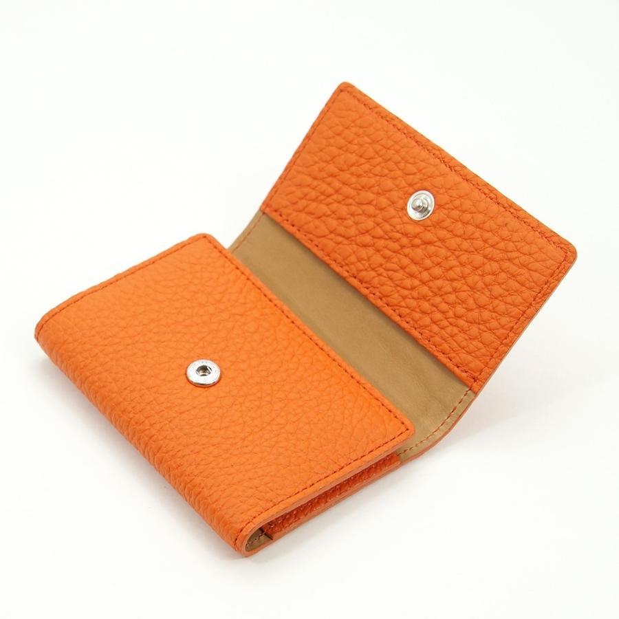 ドイツシュリンク 5連 キーケース 3つ折り カードポケット付 (オレンジ) zeppinchibahonpo 02