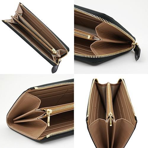 イタリアンカーフ 本革 L字ファスナー型 メンズ 長財布 ブラック zeppinchibahonpo 03