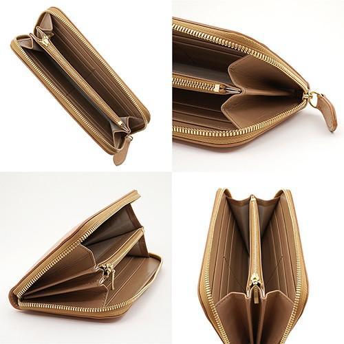 英国 最高級 皮革 ブライドルレザー 経年変化が愉しめる 財布 本革 メンズ ラウンドファスナー 長財布 (ナチュラル)|zeppinchibahonpo|04