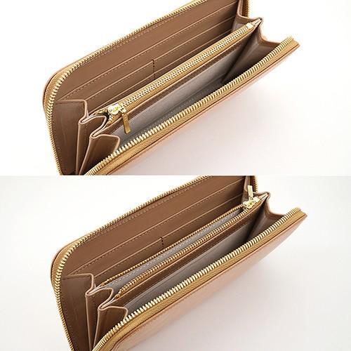 英国 最高級 皮革 ブライドルレザー 経年変化が愉しめる 財布 本革 メンズ ラウンドファスナー 長財布 (ナチュラル)|zeppinchibahonpo|05