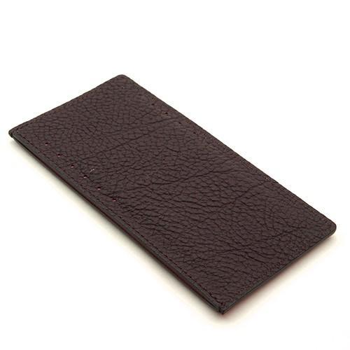 ドイツシュリンク カードケース カブセ財布にすっぽり入る カード12枚収納可能 (チョコ)|zeppinchibahonpo