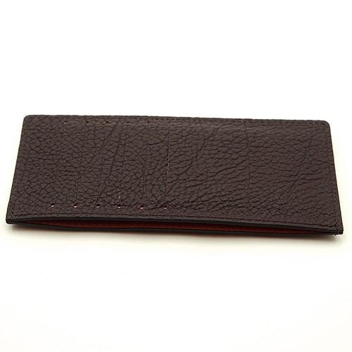 ドイツシュリンク カードケース カブセ財布にすっぽり入る カード12枚収納可能 (チョコ)|zeppinchibahonpo|02