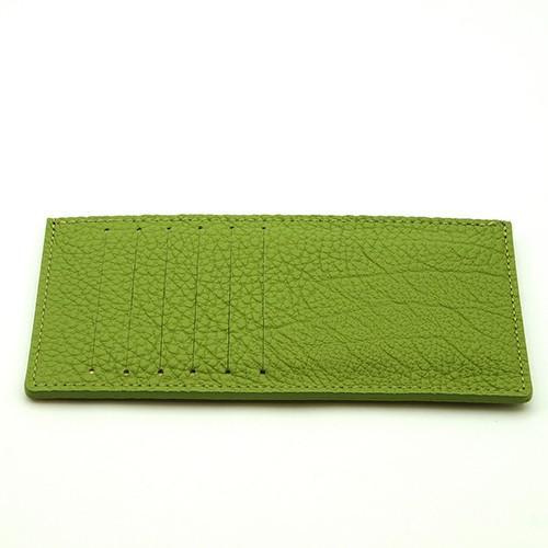 ドイツシュリンク カードケース カブセ財布にすっぽり入る カード12枚収納可能 (ライトグリーン)|zeppinchibahonpo|02