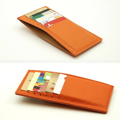 ドイツシュリンク カードケース カブセ財布にすっぽり入る カード12枚収納可能 (ブラック)|zeppinchibahonpo|04