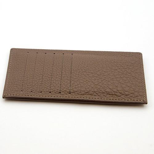 ドイツシュリンク カードケース カブセ財布にすっぽり入る カード12枚収納可能 (トープ)|zeppinchibahonpo|02