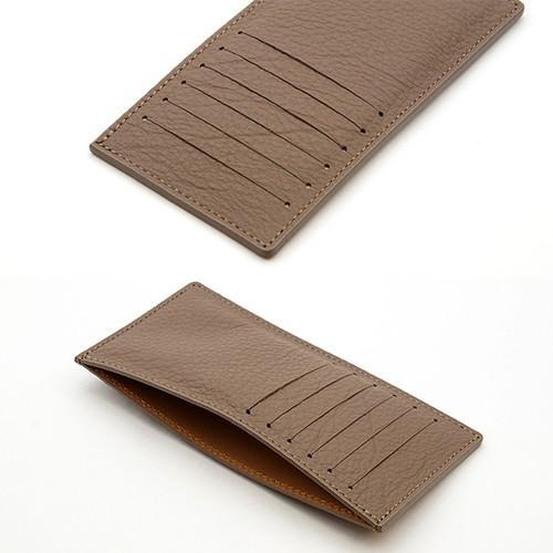 ドイツシュリンク カードケース カブセ財布にすっぽり入る カード12枚収納可能 (トープ)|zeppinchibahonpo|03