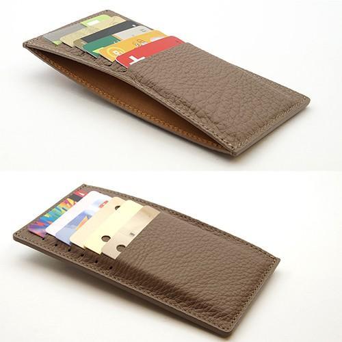 ドイツシュリンク カードケース カブセ財布にすっぽり入る カード12枚収納可能 (トープ)|zeppinchibahonpo|04