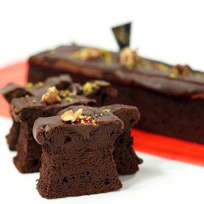 【2本セット】高級チョコレートケーキ アトリエアッシュプリュス の フォンダンショコラ 人気 スイーツ zeppinchibahonpo 03