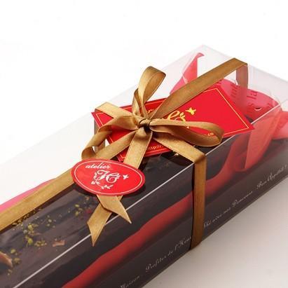 【4本セット】高級チョコレートケーキ 木更津の有名店 アトリエアッシュプリュス フォンダンショコラ|zeppinchibahonpo|04