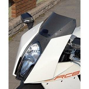 【お1人様1点限り】 KTM 1190 RC8 カーボントリムスクリーン 平織りカーボン製/スモーク MAGICAL RACING(マジカルレーシング), 種市町 709efaf7