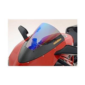 人気アイテム DUCATI 1098 カーボントリムスクリーン 平織りカーボン製/クリア MAGICAL RACING(マジカルレーシング), しまのだいち 0a8530ef
