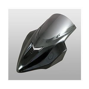 新着商品 Z1000(14年〜) バイザースクリーン FRP製・黒/一部綾織りカーボン製 スモークスクリーン MAGICAL RACING(マジカルレーシング), BeyondCoolビヨンクール 02304310