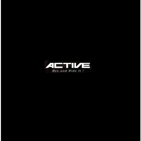 Z1100GP ストレートオイルクーラー #8 9-10/13R用ホースセット(サイド廻し)ブラック仕様 ACTIVE(アクティブ)