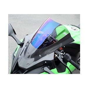 【受注生産品】 ZX-10R(12〜15年) バイザースクリーン/綾織りカーボン製/クリア MAGICAL RACING(マジカルレーシング), 代官山お買い物通り e25c9948