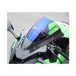 【正規逆輸入品】 ZX-10R(12〜15年) バイザースクリーン/綾織りカーボン製/スモーク MAGICAL RACING(マジカルレーシング), 坂田郡 70494973