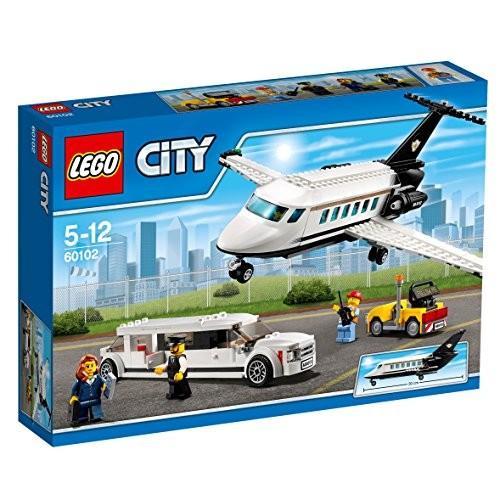 レゴ (LEGO) シティ プライベートジェットとリムジン 60102 新品