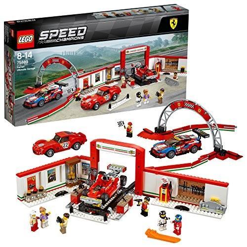 レゴ(LEGO) スピードチャンピオン フェラーリ・アルティメット・ガレージ 75889 新品