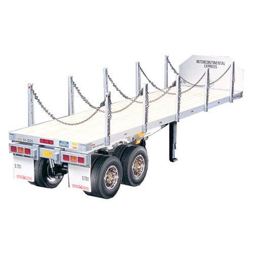 タミヤ 1/14 電動RCビッグトラックシリーズ No.06 トレーラートラック用 フラットベッド セミトレーラー ラジコン 56306 新品