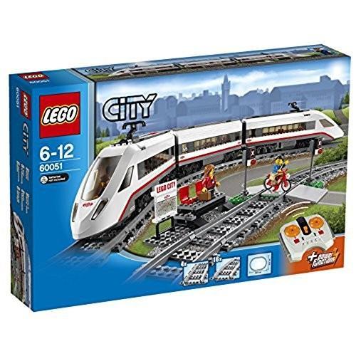 レゴ (LEGO) シティ ハイスピードパッセンジャートレイン 60051 新品