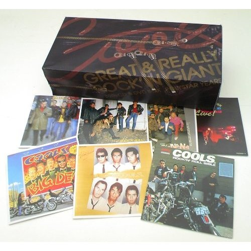GREAT&REALLY ROCK'IN GIANT·35TH CD&DVD BOX ポリスター·イヤーズ