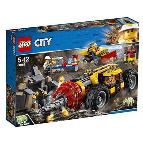 レゴ(LEGO) シティ ガリガリドリルカー 60186 おもちゃ 車 新品
