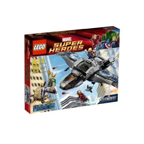 レゴ (LEGO) スーパー・ヒーローズ クインジェットでの空中バトル 6869 新品