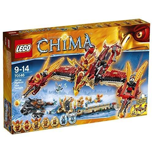 レゴ (LEGO) チーマ 空飛ぶファイヤー神殿 70146 新品