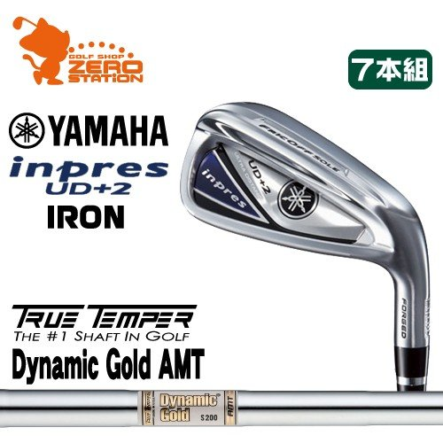 ヤマハ 19 インプレス UD+2 アイアン YAMAHA 19 inpres UD+2 IRON 7本組 Dynamic ゴールド AMT ダイナミックゴールド メーカーカスタム 日本モデル