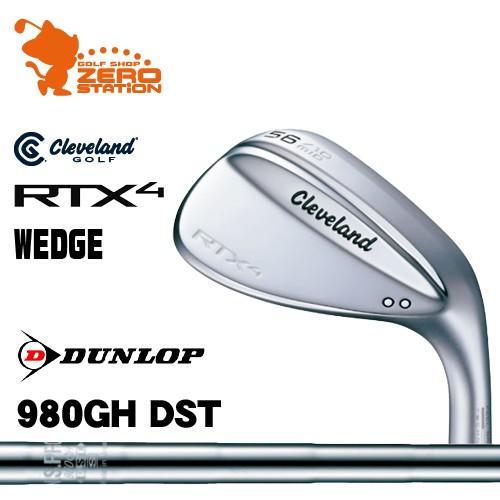 クリーブランド RTX4 ツアーサテン ウェッジ Cleveland RTX4 WEDGE NSPRO 980GH DST スチールシャフト 日本モデル