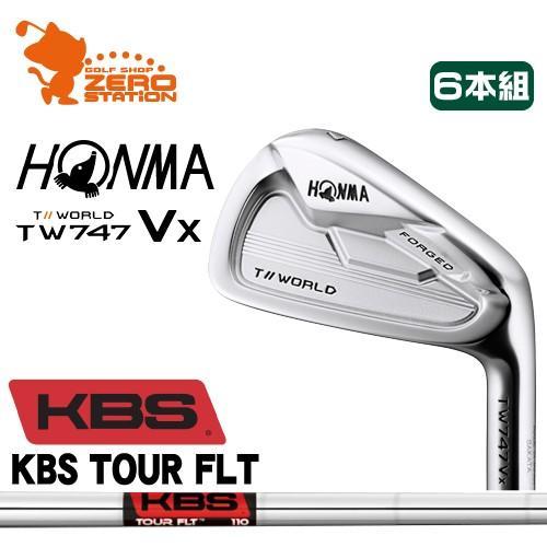 本間ゴルフ ツアーワールド TW747Vx アイアン HONMA TOUR WORLD TW747Vx IRON 6本組 KBS TOUR FLT スチールシャフト 日本モデル