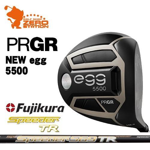 プロギア 2019 NEW egg 5500 エッグ ドライバー PRGR 19 NEW egg 5500 DRIVER Speeder TR スピーダー
