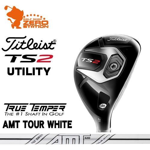タイトリスト 2019 TS2 ユーティリティ Titleist TS2 UTILITY AMT TOUR WHITE スチールシャフト