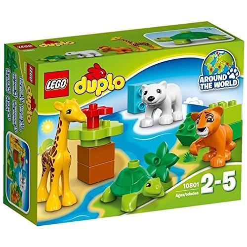 """レゴ (LEGO) デュプロ 世界のどうぶつ""""どうぶつのあかちゃん"""