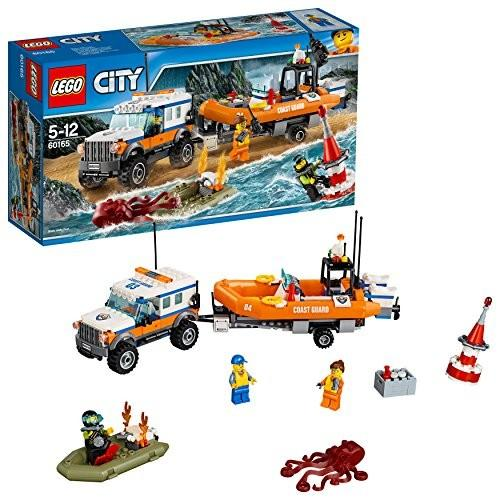 レゴ(LEGO)シティ 海上レスキューボートと4WDキャリアー 60165 新品