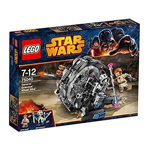 レゴ (LEGO) スター・ウォーズ グリーヴァス将軍のホイールバイク 75040 新品