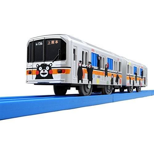 プラレール ぼくもだいすき!たのしい列車シリーズ 熊本電鉄01形ラッピング電車 (くまモンバージョン) 新品