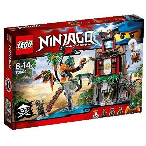 レゴ (LEGO) ニンジャゴー 離れ小島 ティガー島 70604 新品